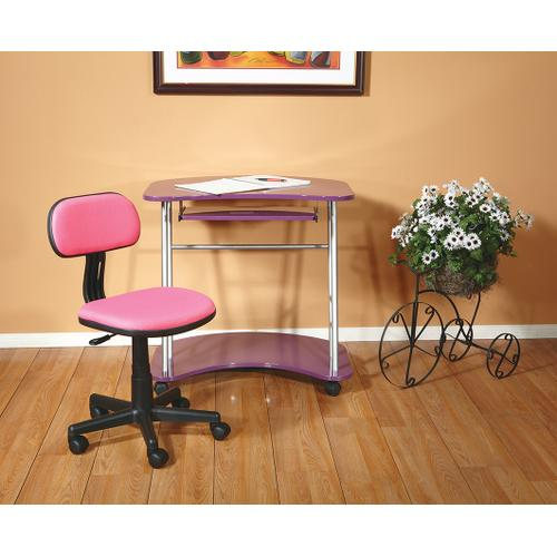 Office Star - Student Task Chair In Pink Fabric