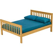 Mission Bed, Double, extra-long