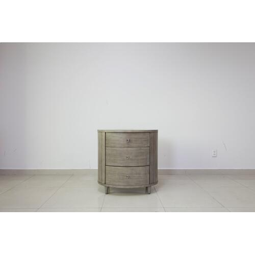 Hawthorne Estate Grey Wash Oval Chest