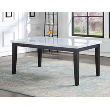 View Product - Sterling 66-inch Faux-Marble Dining Table
