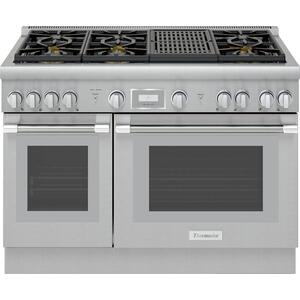 Thermador48-Inch Pro Harmony® Standard Depth Gas Range PRG486WLH