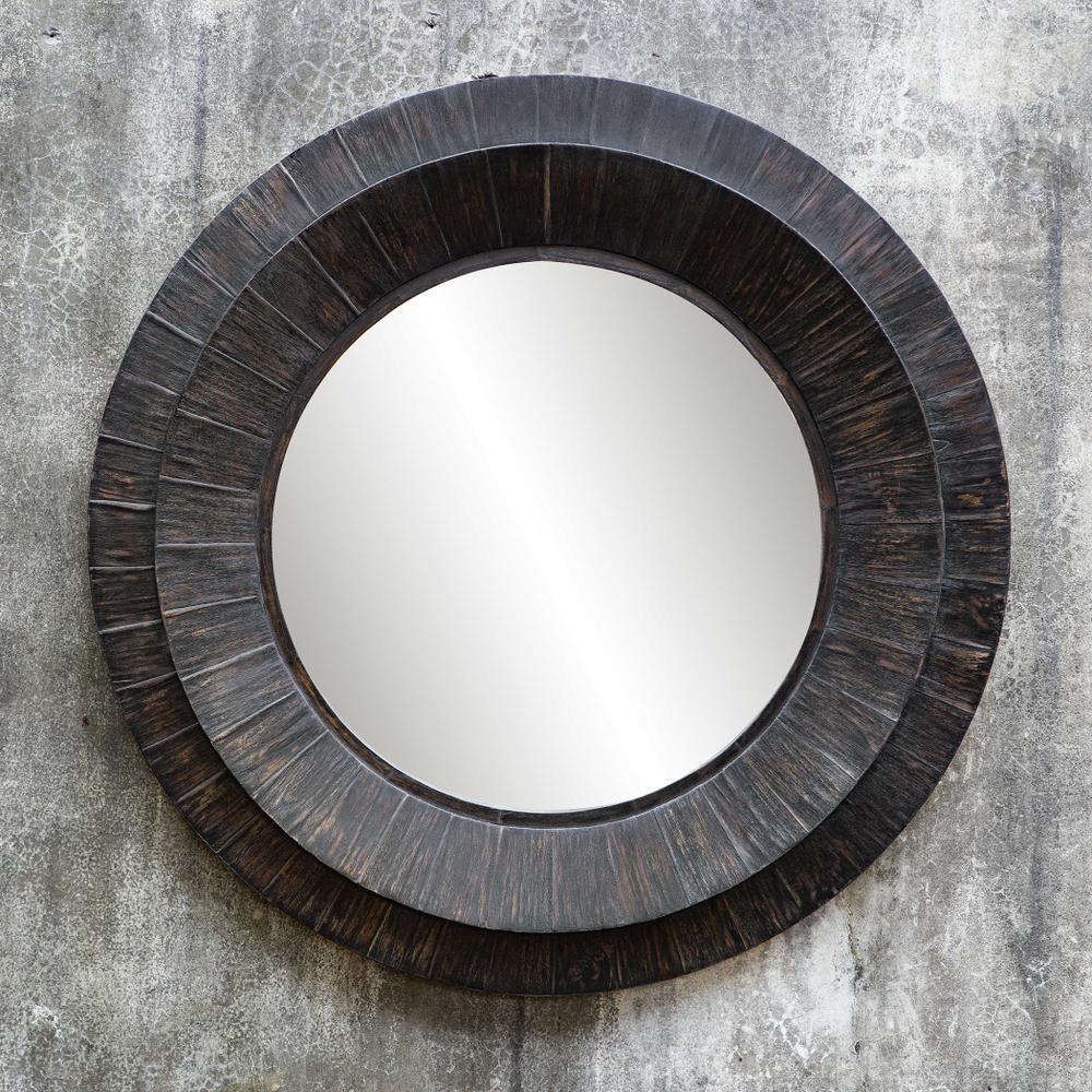 See Details - Corral Round Mirror
