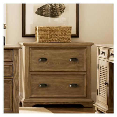 Riverside - Coventry Lateral File Cabinet Weathered Driftwood finish