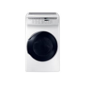 7.5 cu. ft. Smart Electric Dryer with FlexDry™ in White - WHITE