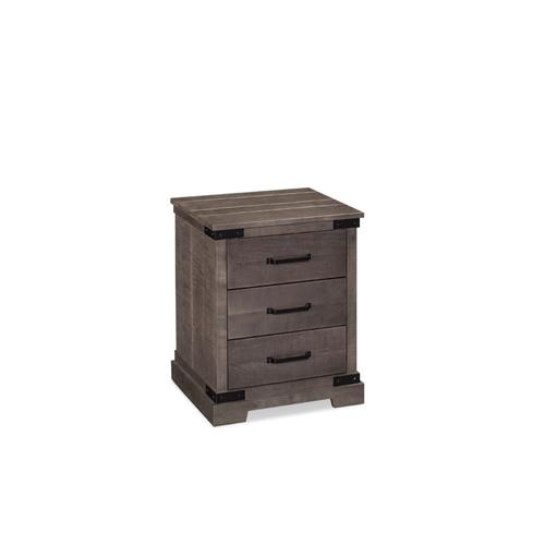 Montauk 3-Drawer Nightstand