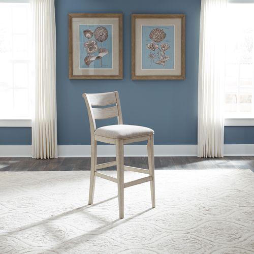 Liberty Furniture Industries - 30 Inch Ladder Back Barstool (RTA)
