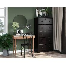See Details - 5356 - Five Super-Jumbo Drawer Chest - Java