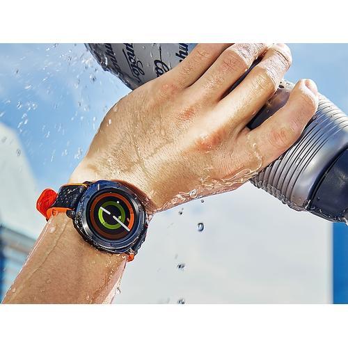Samsung - Hybrid Sport Band for Galaxy Watch 42mm & Gear Sport, Orange