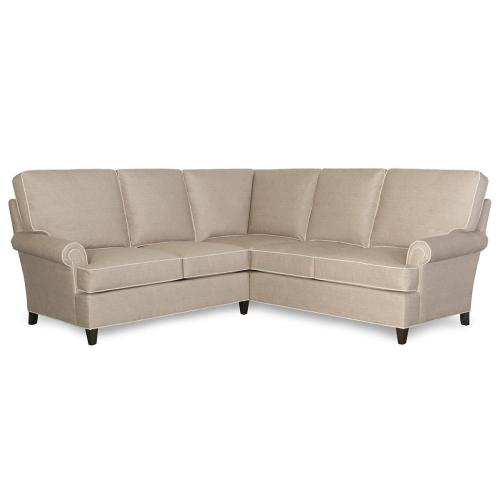 Sectional with Loose Pillow Backs