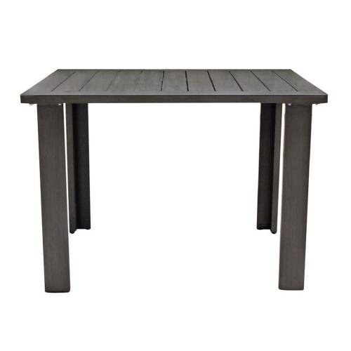 """Limo 43"""" Sq Dining Table W/UH"""