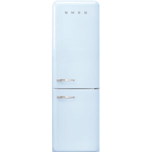 "'50s Style No Frost' Fridge-Freezer, Pastel Blue, Right Hand Hinge, 60 cm (Approx 24"")"