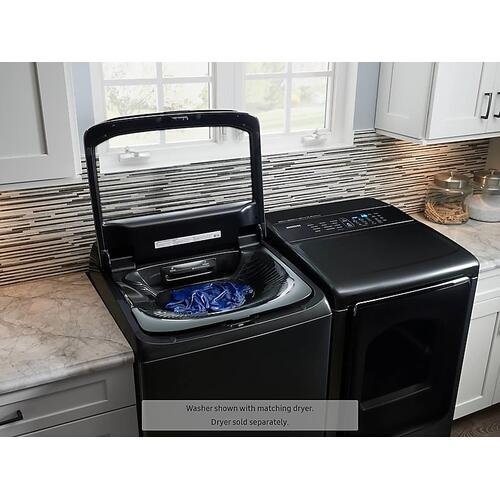 5.4 cu. ft. activewash™ Top Load Washer with Integrated Touch Controls in Black Stainless Steel