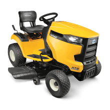 "XT2 LX42 679cc V Twin Cub Cadet 42"" Cutting Deck Riding Mower"