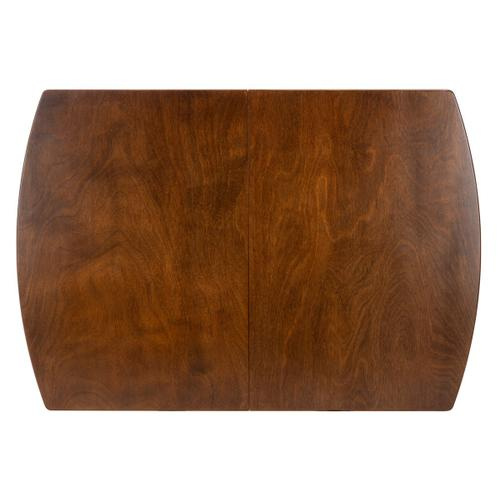 Kyoga Auto Mechanism Extension Dining Table - Walnut