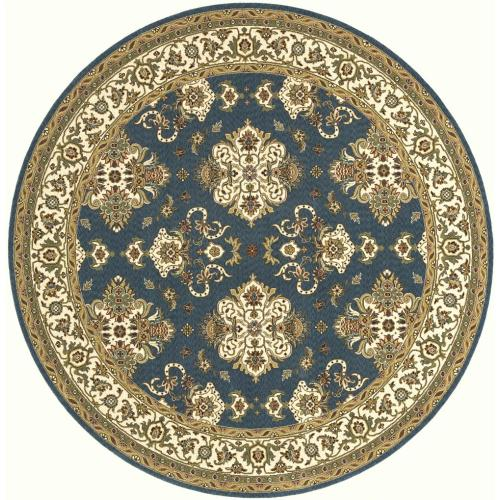 Persian Garden Pg-01 Teal Blue - 2.6 x 8.0 Runner