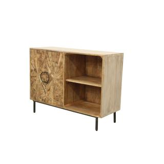 Roswell 2 Door and Open Shelf Cabinet