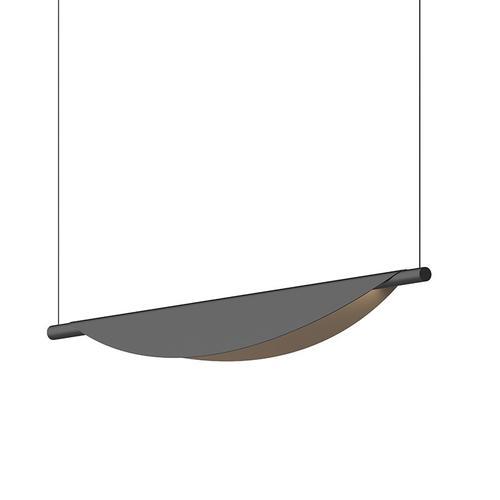 Sonneman - A Way of Light - Tela LED Pendant [Size=Single Pendant, Color/Finish=Satin Black]