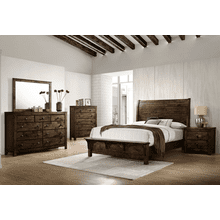 BLUE RIDGE Queen Bedroom - Queen Bed, Dresser, Mirror