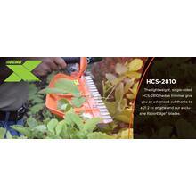 NEW HCS-2810 ECHO X Series Hedge Trimmer Professional Hedge Cutters