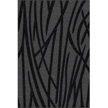 "Durable Flat Weave No Shedding Lifestyle 698 Area Rug by Rug Factory Plus - 2' x 7'5"" / Gray"