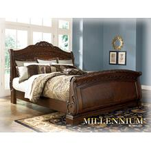 North Shore - Dark Brown 3 Piece Bed (Queen)