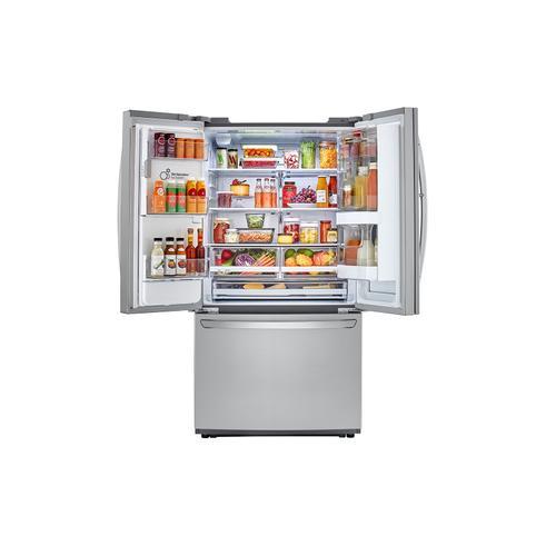 Gallery - 22 cu. ft. Smart wi-fi Enabled InstaView™ Door-in-Door® Counter-Depth Refrigerator