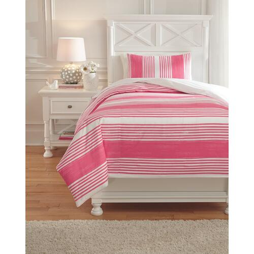 Taries 2-piece Twin Duvet Cover Set