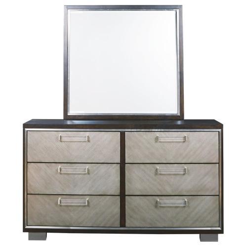 Signature Design By Ashley - Maretto Dresser and Mirror