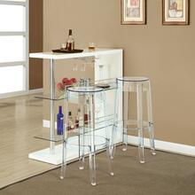 Casper Bar Stool in Clear