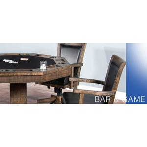 Sunny Designs - Homestead Game & Dining Table