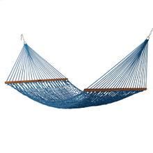 See Details - Deluxe Original DuraCord Rope Hammock - Coastal Blue