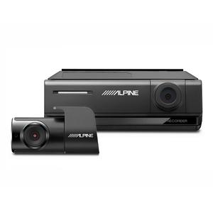 Premium 1080p HD Night Vision Dash Camera Bundle (Front + Rear) with Built-In Drive Assist