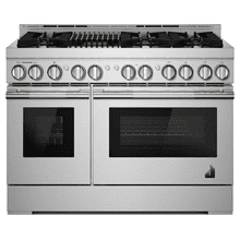 "48"" RISE™ Gas Professional-Style Range with Infrared Grill"
