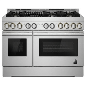 """48"""" RISE™ Gas Professional-Style Range with Infrared Grill"""