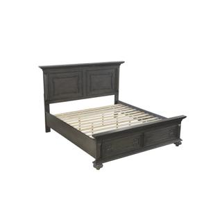 Hillridge Queen Platform Bed with Footboard Storage