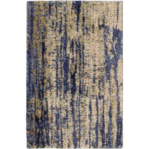 Cosmopolitan Mineral Bleu Indigo 2'x3'