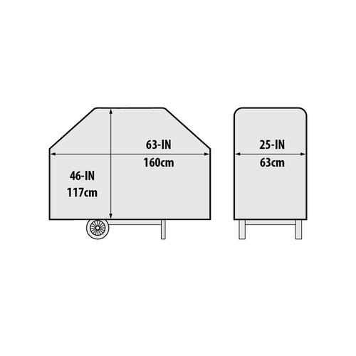 "Broil King - 63"" Premium PVC Polyester Cover"