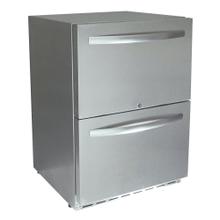 Rcs 2-drawer Fridge W/lock