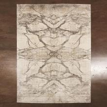 Mirror Match Marble Rug-Neutrals-9 x 12