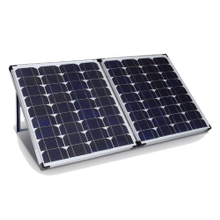 See Details - 95W Portable Suitcase Solar Panel