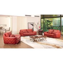 Divani Casa Felicity Modern Leather Sofa Set