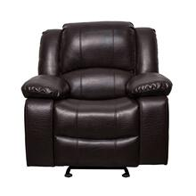 See Details - 8026 BROWN Air Leather Recliner