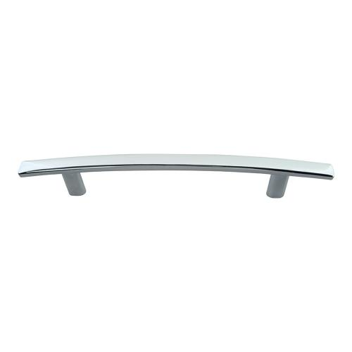 Curved Line Pull 5 1/16 Inch (c-c) - Polished Chrome
