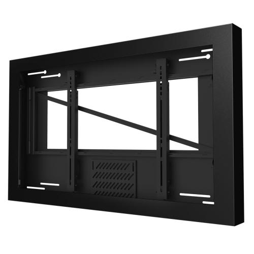 Wall Kiosk Enclosures (Landscape) - Black / 55