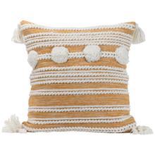 See Details - 20x20 Hand Woven Blake Pillow Gold
