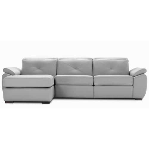 Sorrento Sectional (230-171-170 Wood legs - Charcoal 74)