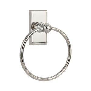 Traditional Brass Towel Ring Product Image