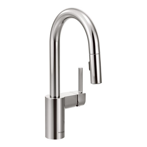 Product Image - Align Chrome one-handle high arc pulldown bar faucet