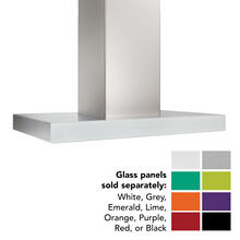 See Details - 36-inch Island Range Hood, 650 Max Blower CFM, Stainless Steel, Without Glass (ICB3 Series)
