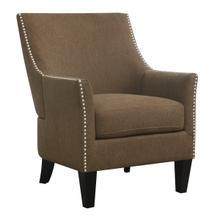 Kismet Accent Chair, Brown U3537-05-01